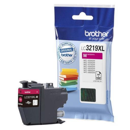 BROTHER cartucho inyección magenta 3000 páginas MFC-J6530DW/J6930DW LC-3219XLM