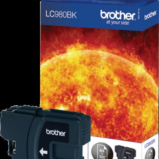 BROTHER Cartuchos inyección Negro LC980BK
