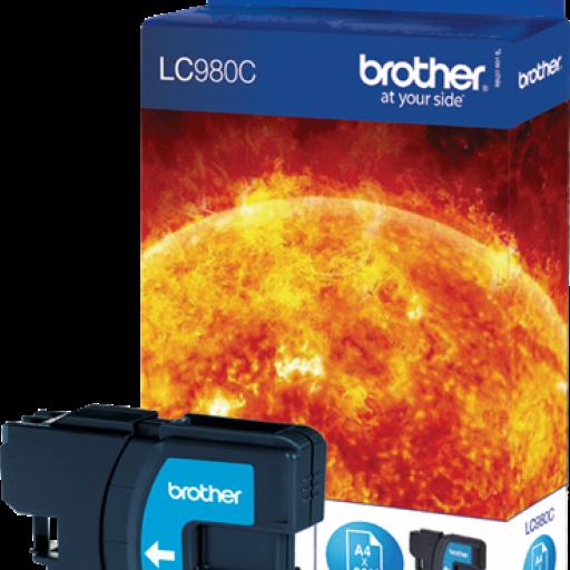 BROTHER Cartuchos inyección Cyan LC980C