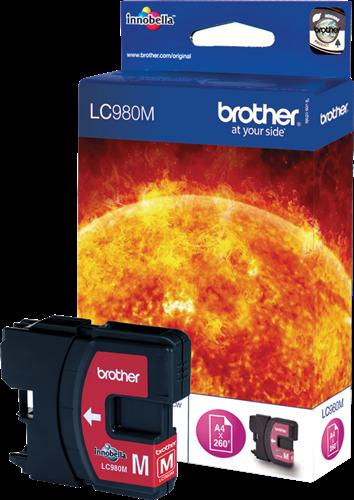BROTHER Cartuchos inyección LC-980M Magenta LC980M