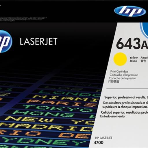 HP Toner Laser 643A Amarillo Q5952A