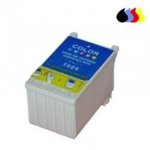 T009 CARTUCHO GENERICO EPSON COLOR (12,5 ML)