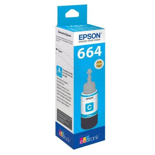 EPSON BOTELLA INYECCION CYAN T6642 70 ML (WE) C13T664240