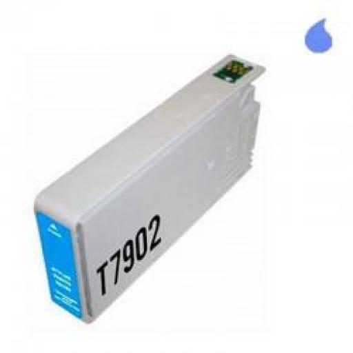 T7902 CARTUCHO GENERICO EPSON 79XL CYAN (32 ML)
