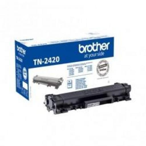 TONER NEGRO BROTHER TN2420 - 3000 PÁGINAS