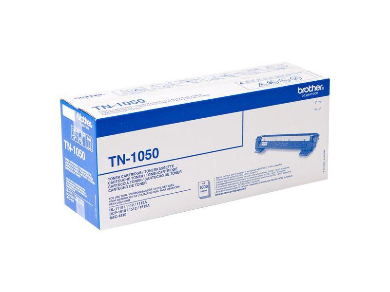 BROTHER Toner Laser TN-1050 Negro 1.000pg TN1050