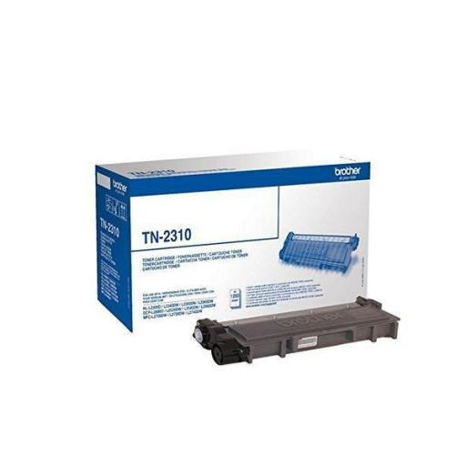 BROTHER Toner Laser TN-2310 Negro 1.200pg TN2310