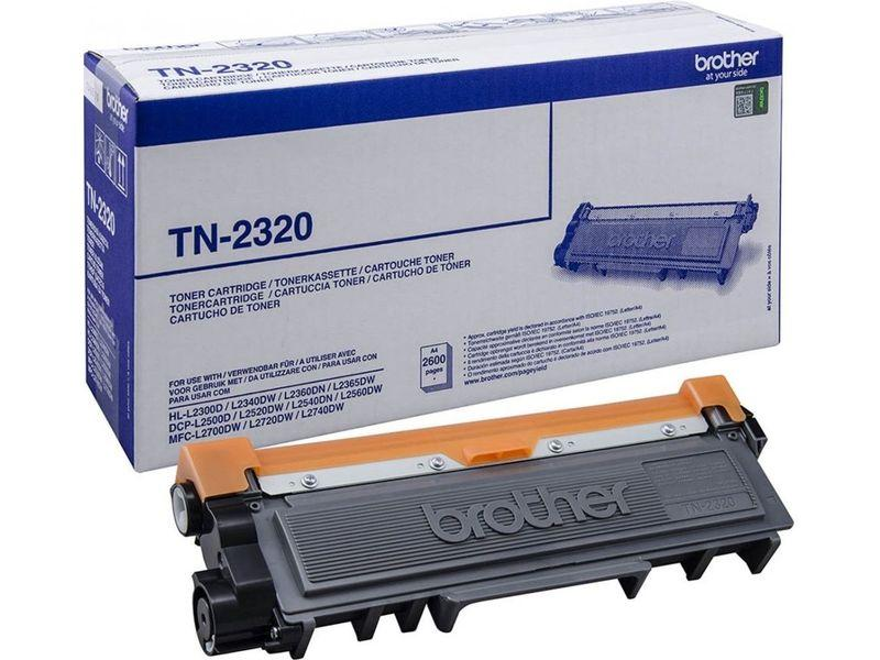BROTHER Toner Laser TN-2320 Negro TN2320