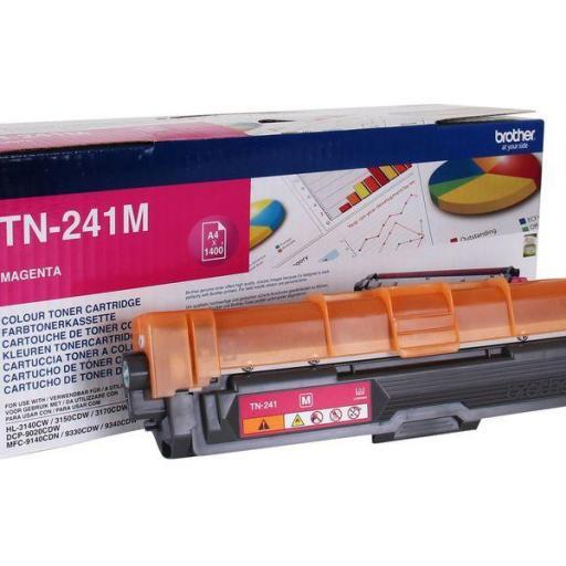 BROTHER Toner Laser TN241 MAGENTA 1,4K