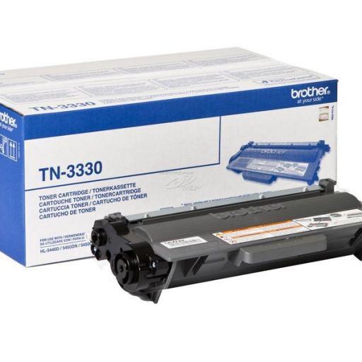 BROTHER Toner Laser Negro 3.000pg TN3330