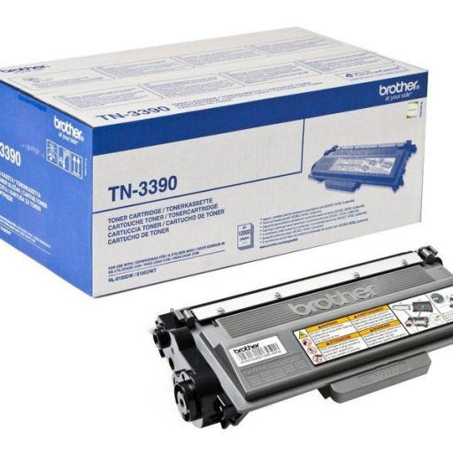 BROTHER Toner Laser Negro TN3380