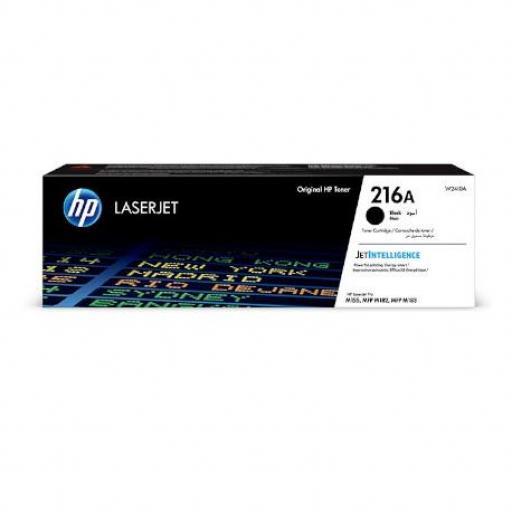Tóner Original HP 216A Negro - W2410A Rendimiento 1.050 Páginas.