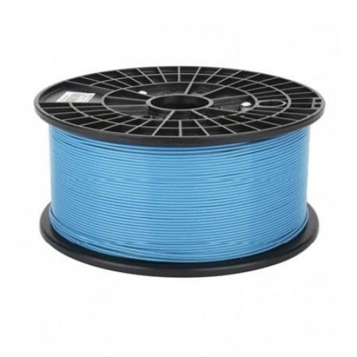 1 kg de Filamento PLA 1.75mm 1 Kg Azul. Filamento