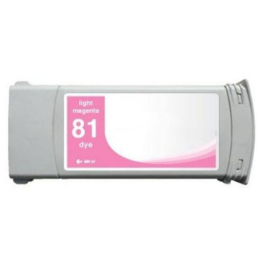HP 81 magenta light  Cartucho de Tinta compatible - Reemplaza C4935A 680 ml