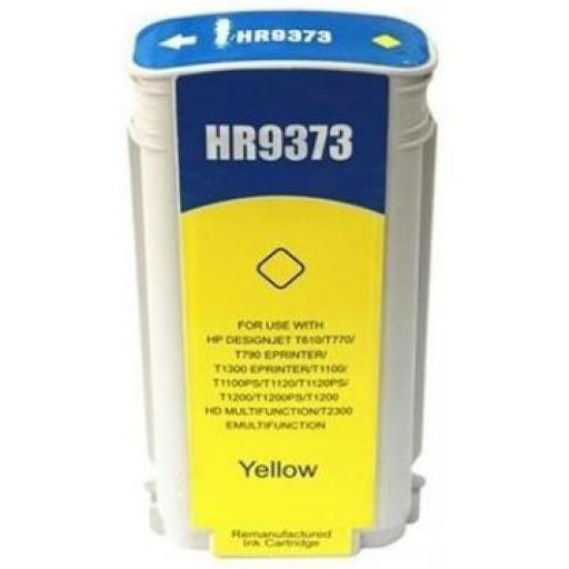 HP 72 Amarillo Cartucho de Tinta Generico - Reemplaza C9373A 130 ml
