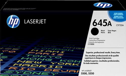 HP Toner Laser 645A Negro C9730A