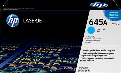 HP Toner Laser 645A Cyan 12.000pg C9731A
