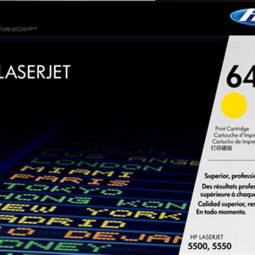HP Toner Laser 645A Amarillo C9732A