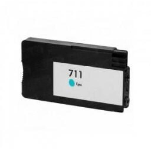 ECONOMICO-COMPATIBLE HP 711 V4/V5 Cyan Cartucho de Tinta Generico - Reemplaza CZ130A