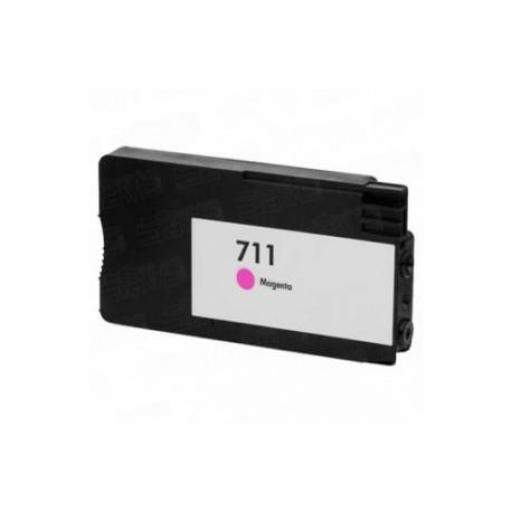 HP 711 V4/V5 magenta Cartucho de Tinta Generico - Reemplaza CZ131A