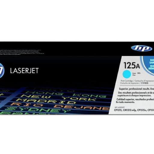 HP Toner Laser 125A Cyan 1.400pg CB541A  [0]