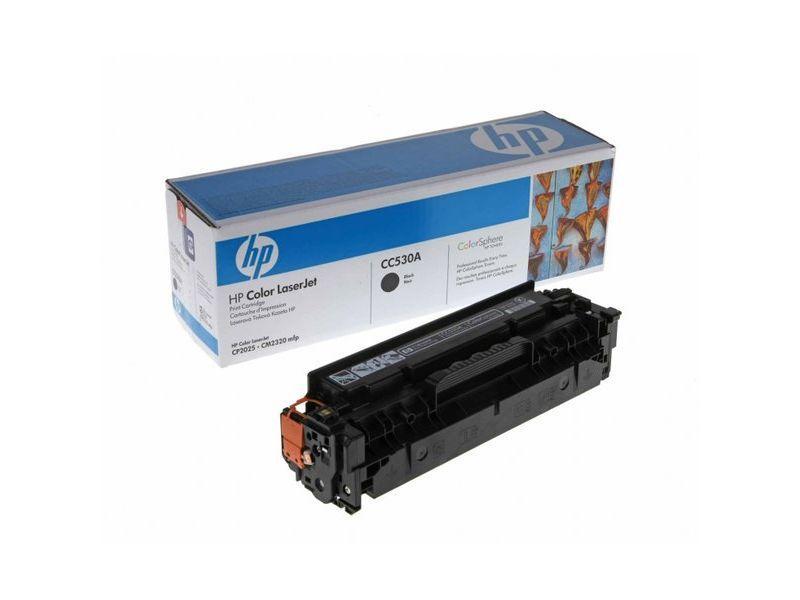 HP TONER LASER 304A NEGRO CC530A