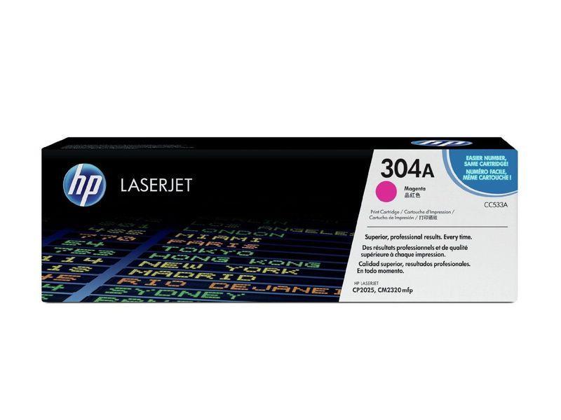 HP Toner Laser 304A Magenta 2.800pg CC533A