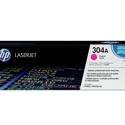 HP Toner Laser 304A Magenta 2.800pg CC533A  [0]
