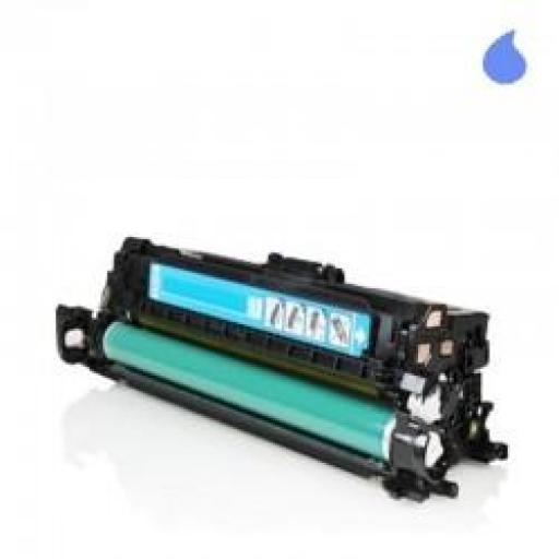 CE251A TONER GENERICO HP CYAN (N 504A) 7.000 PAG.