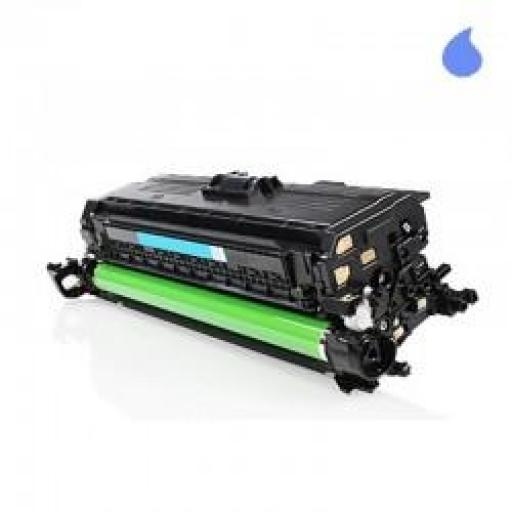 CE261A TONER GENERICO HP CYAN (N 647A) 11.000 PAG.