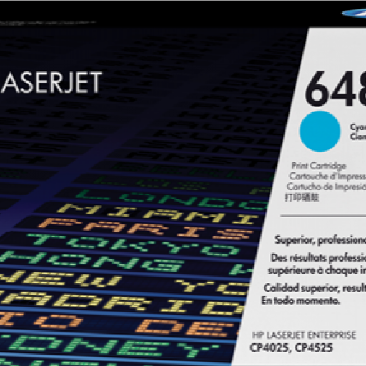 HP Toners Laser 648A Cyan CE261A