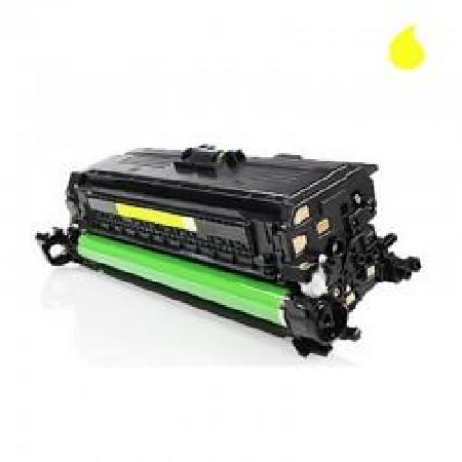 CE262A TONER GENERICO HP AMARILLO (N 647A) 11.000 PAG.