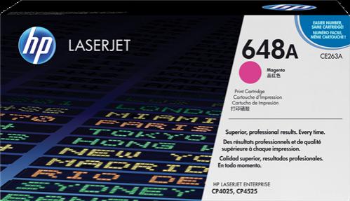 HP Toner Laser 648A Magenta CE263A