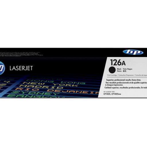 HP Toner Laser 126A Negro Pack 2 CE310AD  [0]