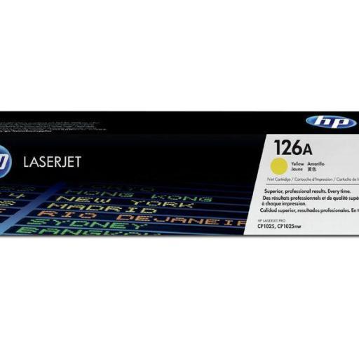 HP Toner Laser 126A Amarillo CE312A