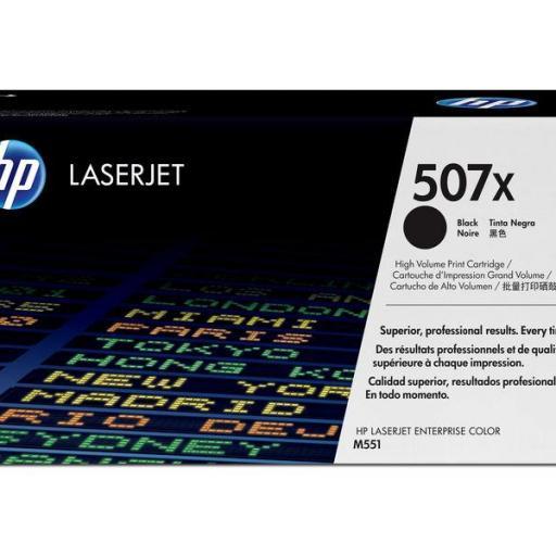 HP Toner Laser 507X Negro CE400X