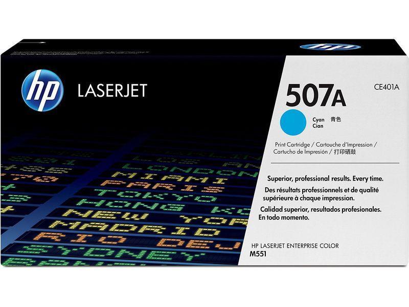 HP Toner Laser 507A Cyan CE401A