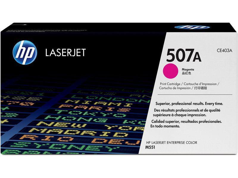 HP Toner Laser 507A Magenta CE403A