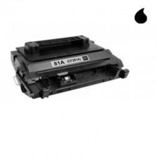 CF281A TONER GENERICO HP NEGRO (N 81A) 10.500 PAG.