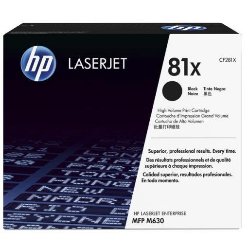 HP TonerLaserjet alta capacidad CF281X  [0]