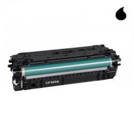 CF360X TONER GENERICO HP NEGRO (N 508X) 12.500 PAG.