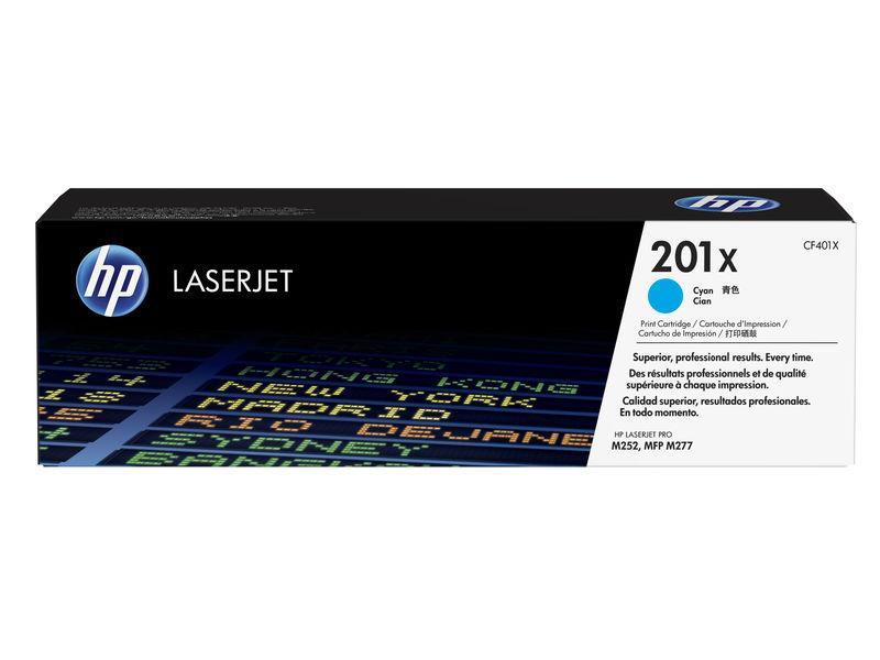 HP TONER LASERJET ORIGINAL 201X ALTACAPCIDAD CIAN CF401X