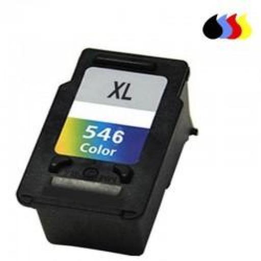 CL-546XL CARTUCHO RECICLADO CANON COLOR (CL546XL) 18 ML [0]