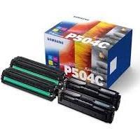Samsung CLT-P504C  negro / cian / magenta / amarillo Rainbow Kit, 4 tóneres: CLT-K504S + CLT-C504S + CLT-M504S + CLT-Y504S