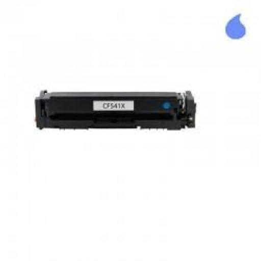 HP CF541X / 203X TONER GENERICO HP CYAN 2500 PAG.