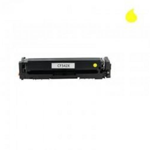 HP CF542X / 203X TONER GENERICO HP AMARILLO 2500 PAG.