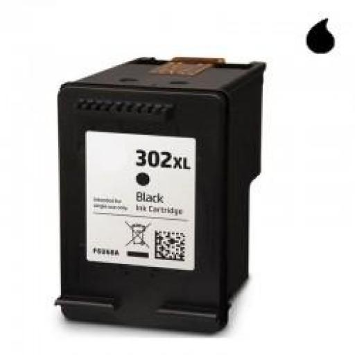 F6U68AE CARTUCHO RECICLADO HP NEGRO N 302XLBK (20 ML)