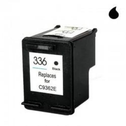 C9362A CARTUCHO RECICLADO COMPATIBLE CON HP NEGRO (N 336) 8 ML