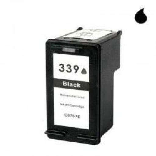 C8767A CARTUCHO RECICLADO HP NEGRO (N 339) 30 ML