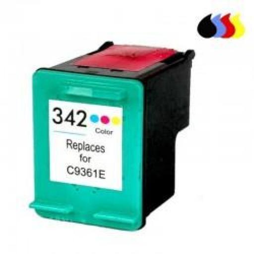 C9361EE CARTUCHO RECICLADO HP COLOR (N 342) 3X5 ML
